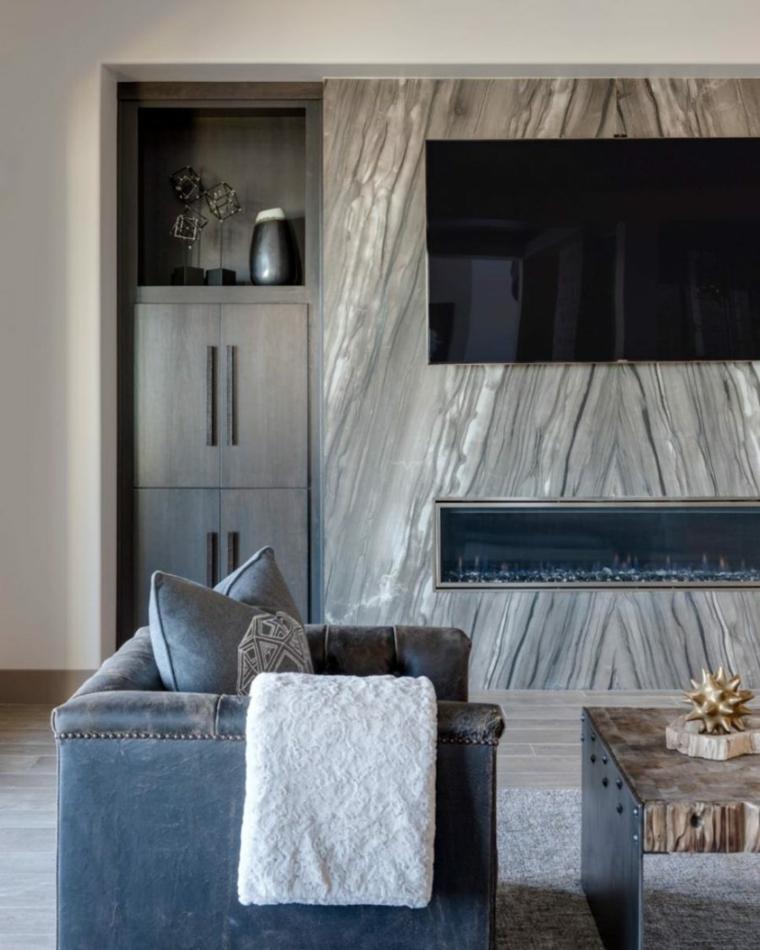 efecto texturas interesantes muebles piedras