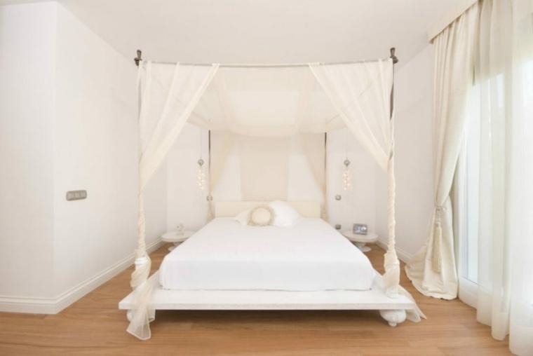 elegantes claras cortinas decoraciones bajo