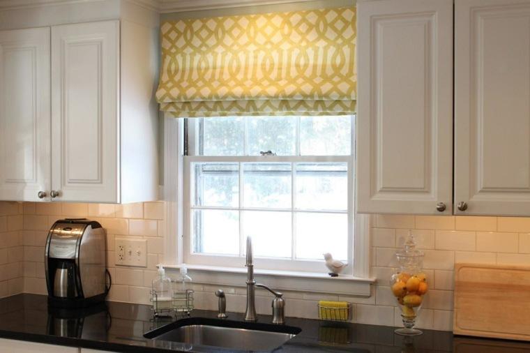 elegants cocinas decoraciones aspectos amarillos