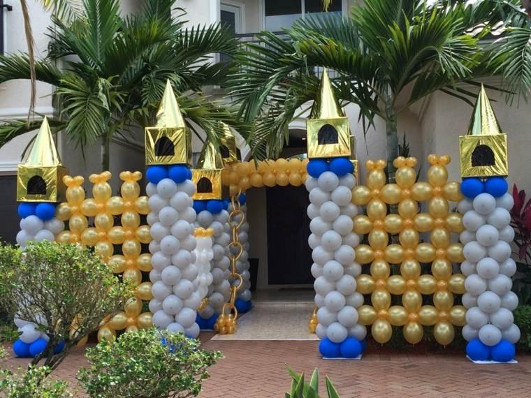 entrada castillo espcial ideas dorados