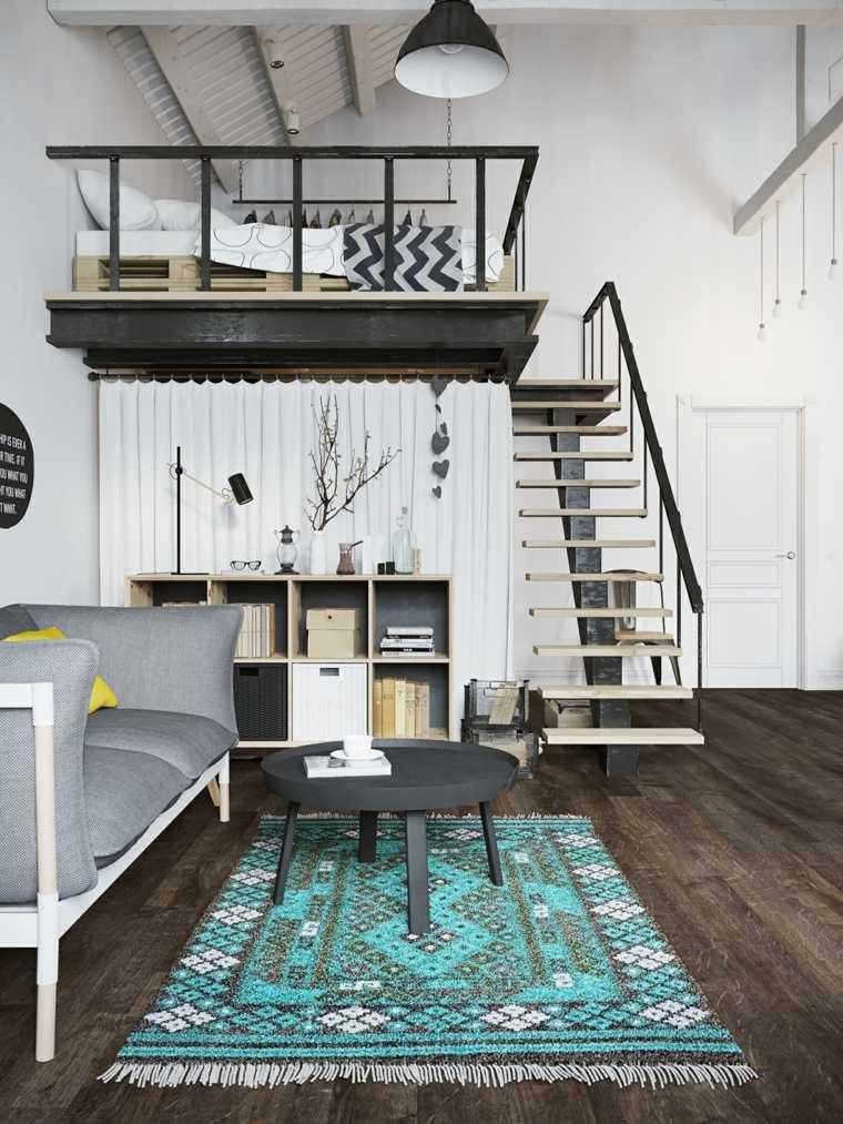 Escaleras de interior modernas 40 ideas para elevar el for Tipos de disenos de interiores de casas