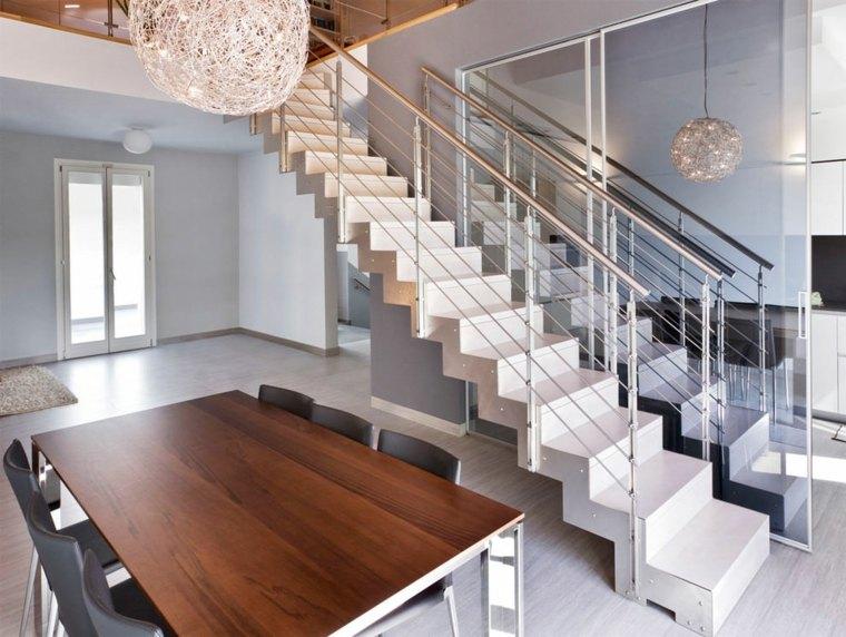 Escaleras de interior modernas - 40 ideas para elevar el ... - photo#30