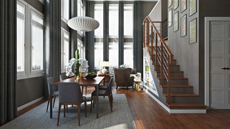 Escaleras de interior modernas 40 ideas para elevar el for Disenos para escaleras interiores