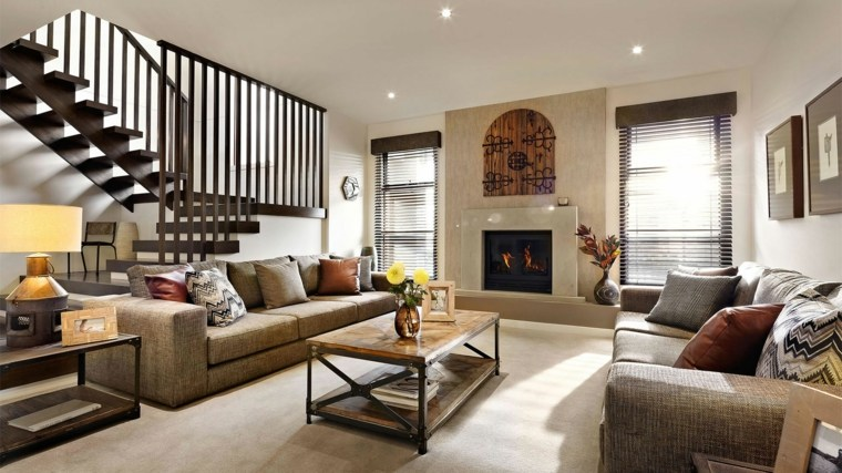 escaleras de interior modernas elegante diseno ideas