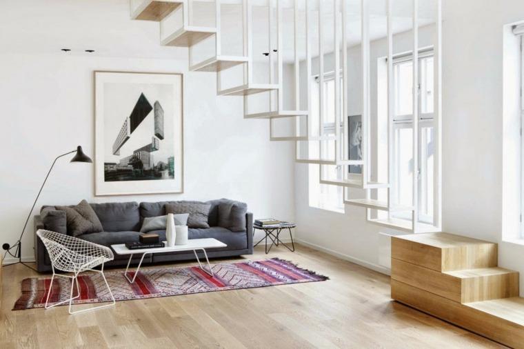 escaleras de interior modernas interior diseno escandinavo ideas