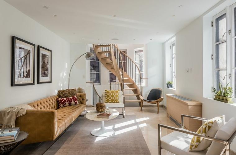 escaleras de interior modernas opciones originales ideas
