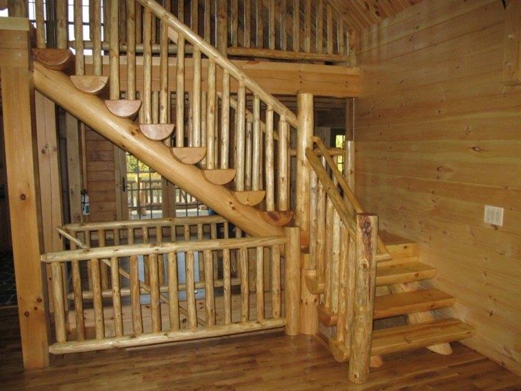 Escaleras r sticas de piedra y madera 34 dise os - Escaleras rusticas de madera ...