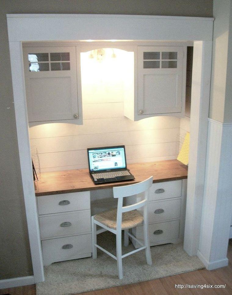 armario convertido estudio