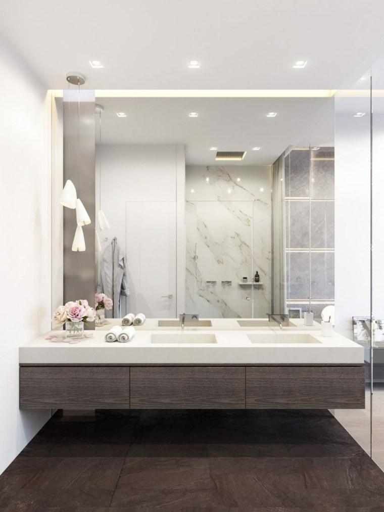 espejo de baño decorar