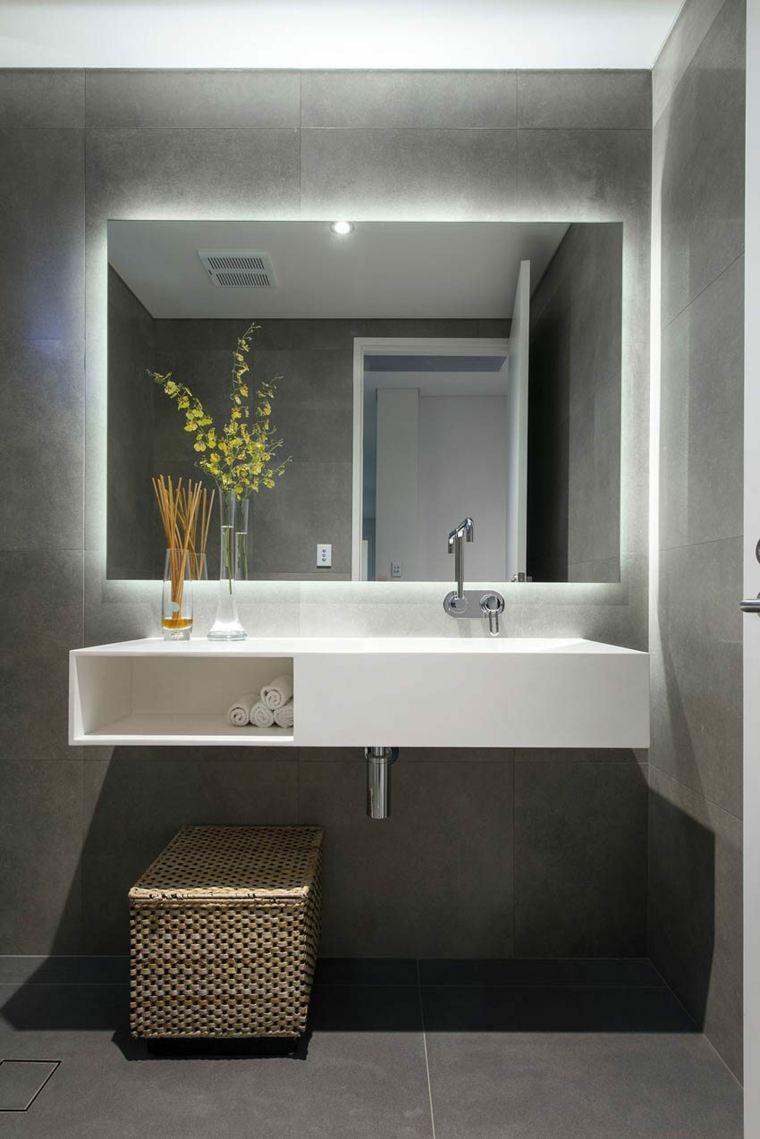 espejos baño decorar