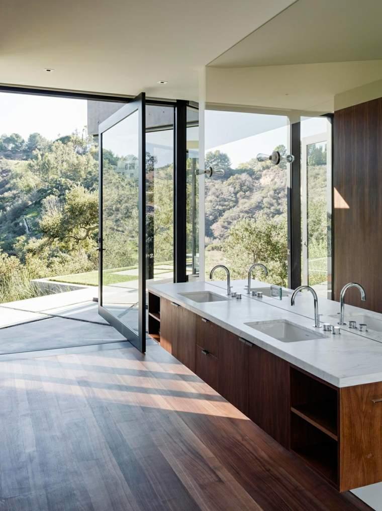 espejos de baño decoración interior