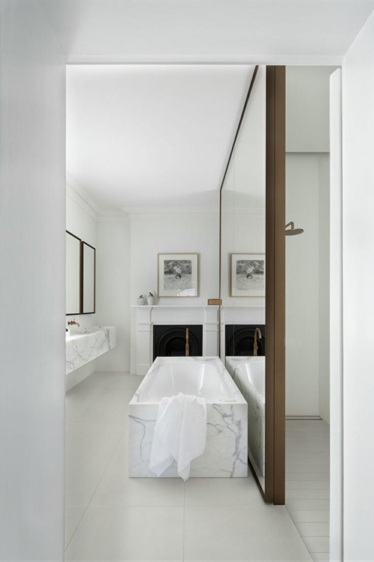 espejos de baño decorar interior