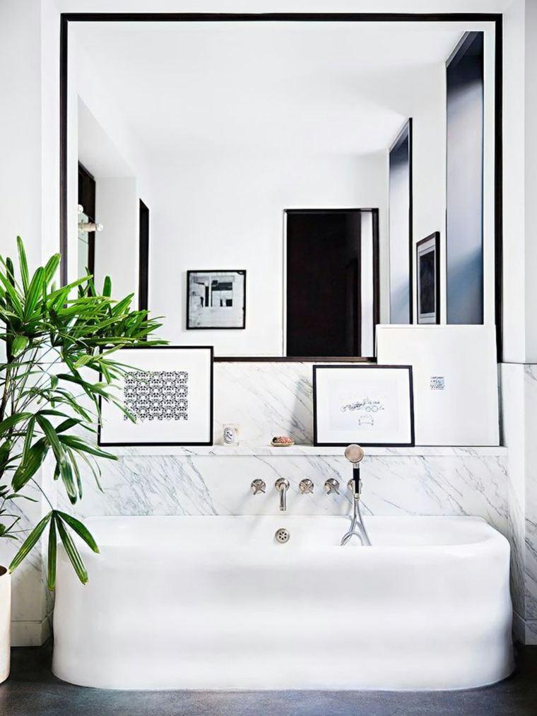 espejos de baño decorar interiores