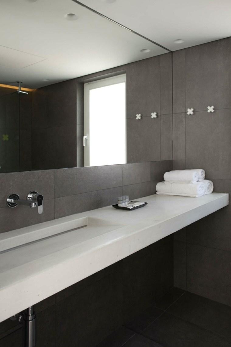 espejos de baño grandes pared
