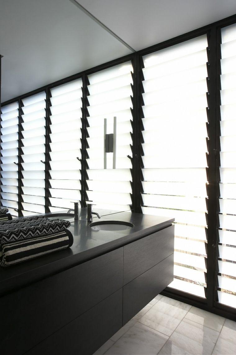 espejos de bao grandes paredes