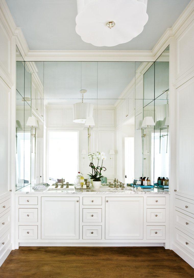 Espejos de ba o grandes para decorar el interior for Espejos para banos easy