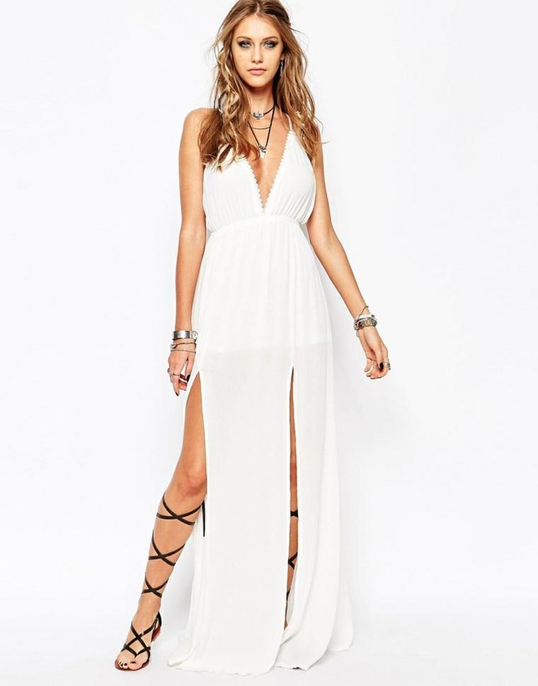 e5e7149b9 Vestidos blancos de playa largos – Vestidos baratos