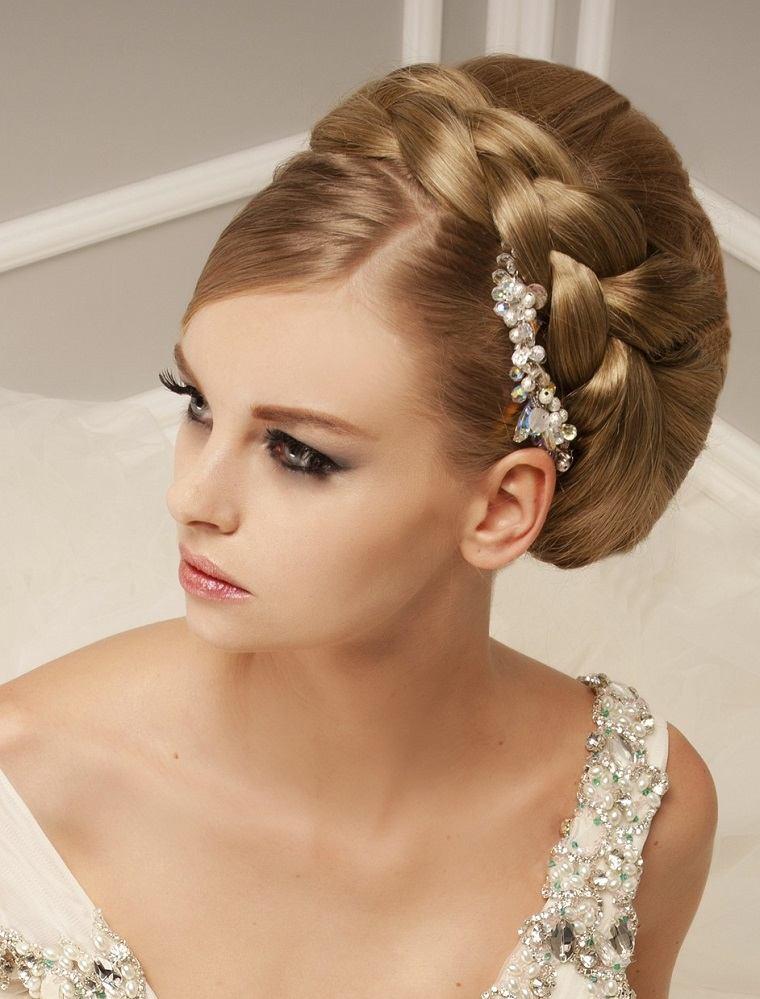 estilo peinado novia boda opciones ideas