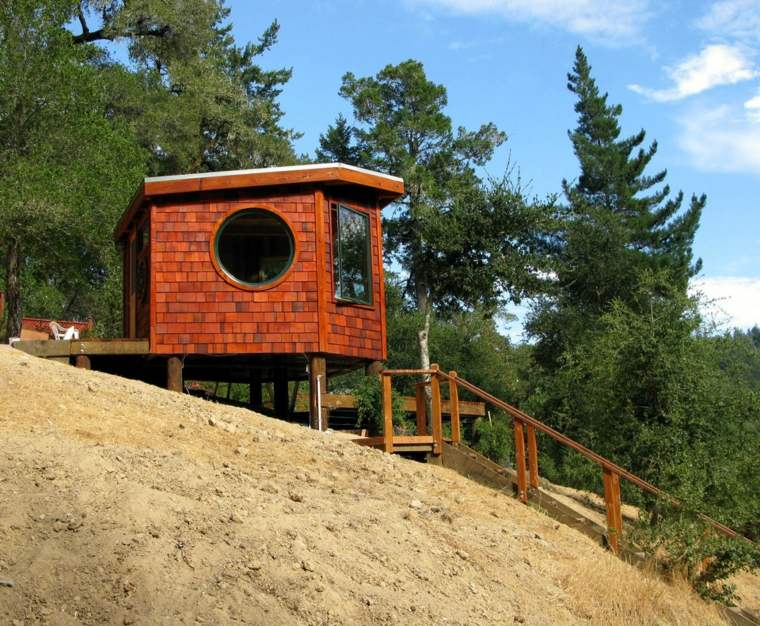 cabaña madera pequeña