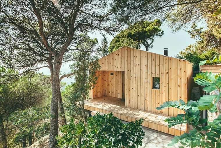 cabaña Cataluña Dom Arquitectura
