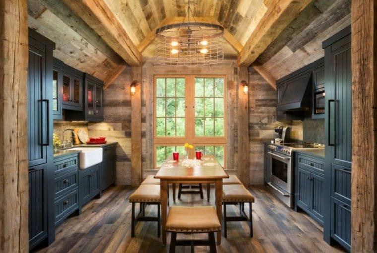 estupenda cocina diseño estilo rústico
