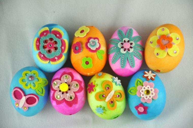 bonitos huevos de Pascua