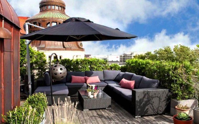estupenda decoracion terrazas chill out