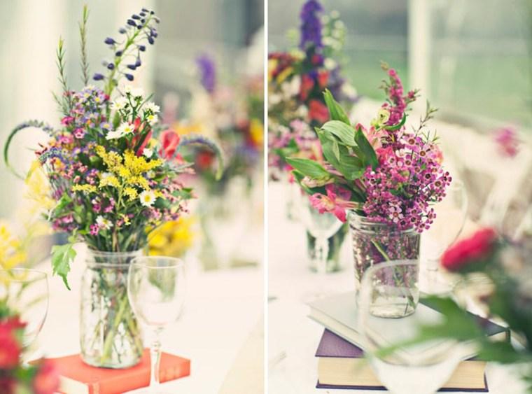 estupendos jarrones flores silvestres