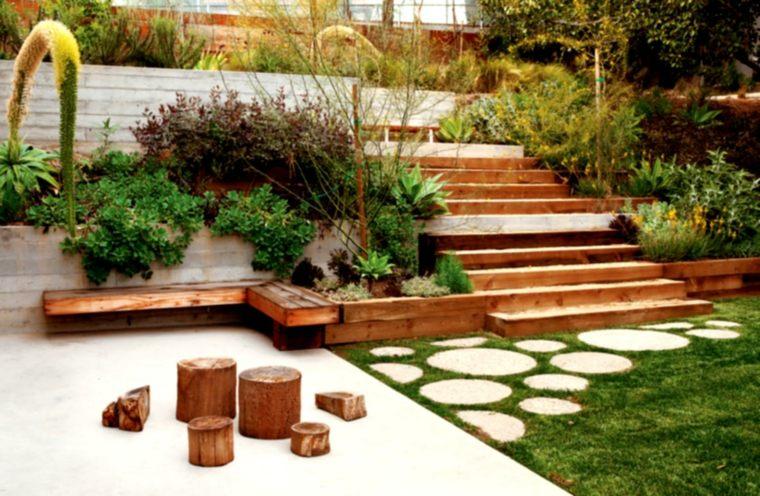 estupendo diseño paisaje jardin