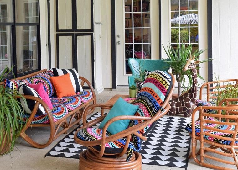 estupendos muebles terraza chill