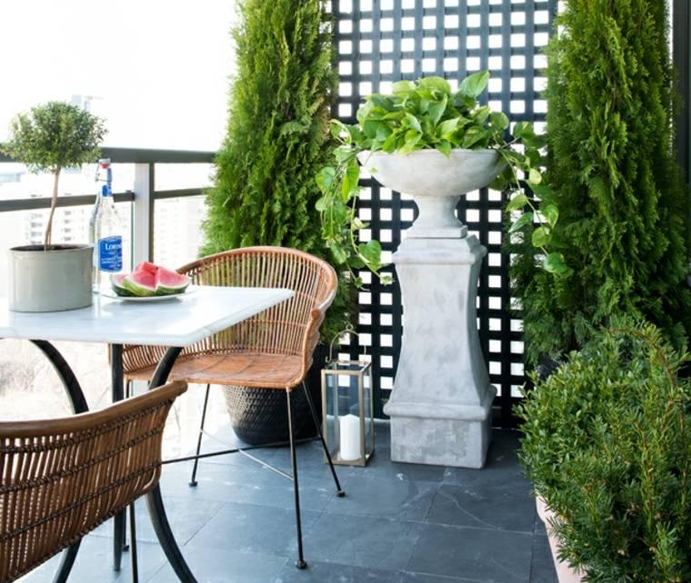 estupenda decoración terraza