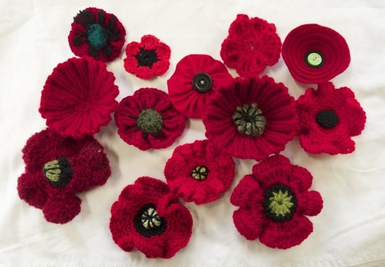 flores a ganchillo decorar