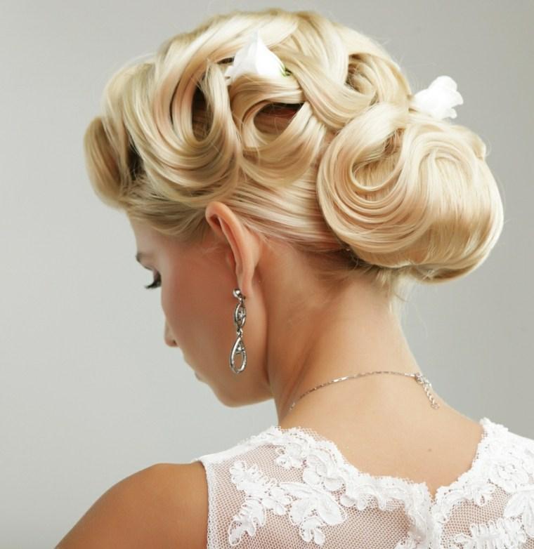 flores blancas pelo opciones estilo elegante ideas