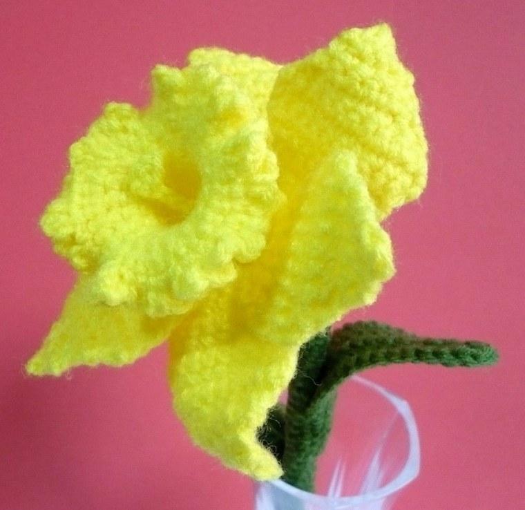 flores de ganchillo decorar casa