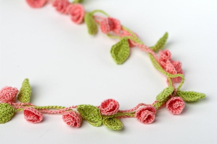 flores de ganchillo decorar