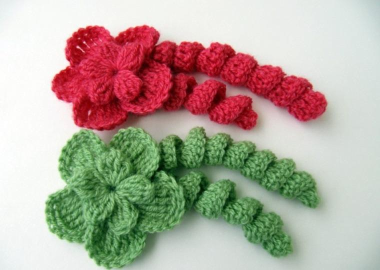 flores de ganchillo interesantes