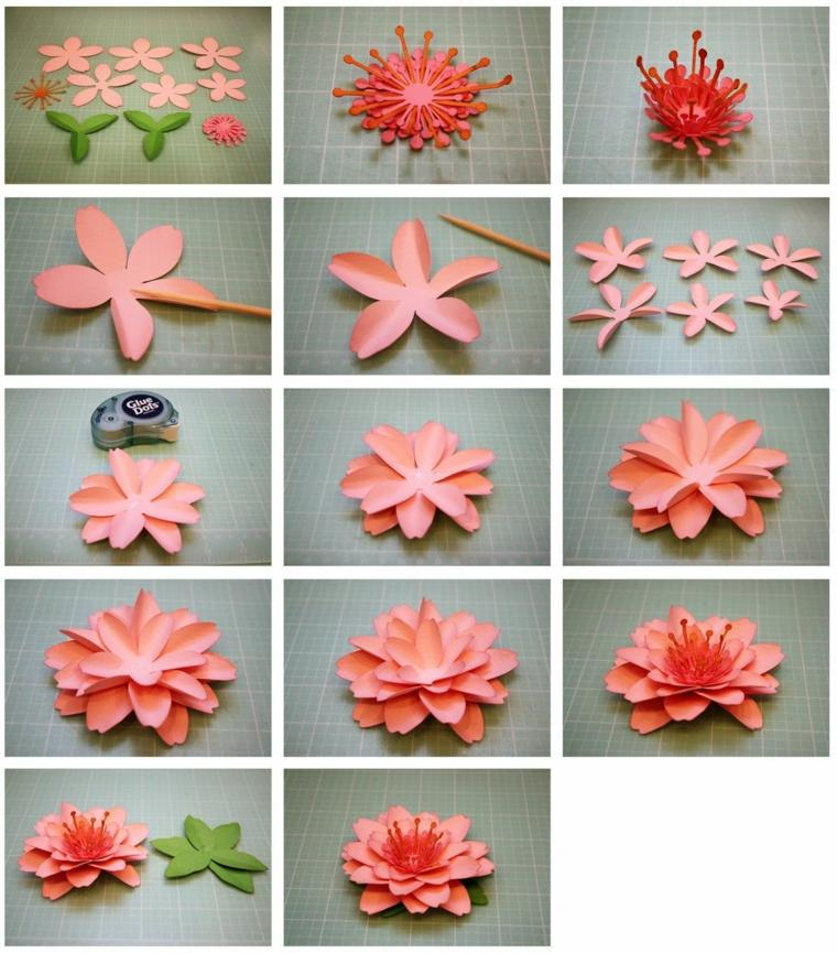 Flores De Papel Para Decorar El Interior De Vuestra Casa