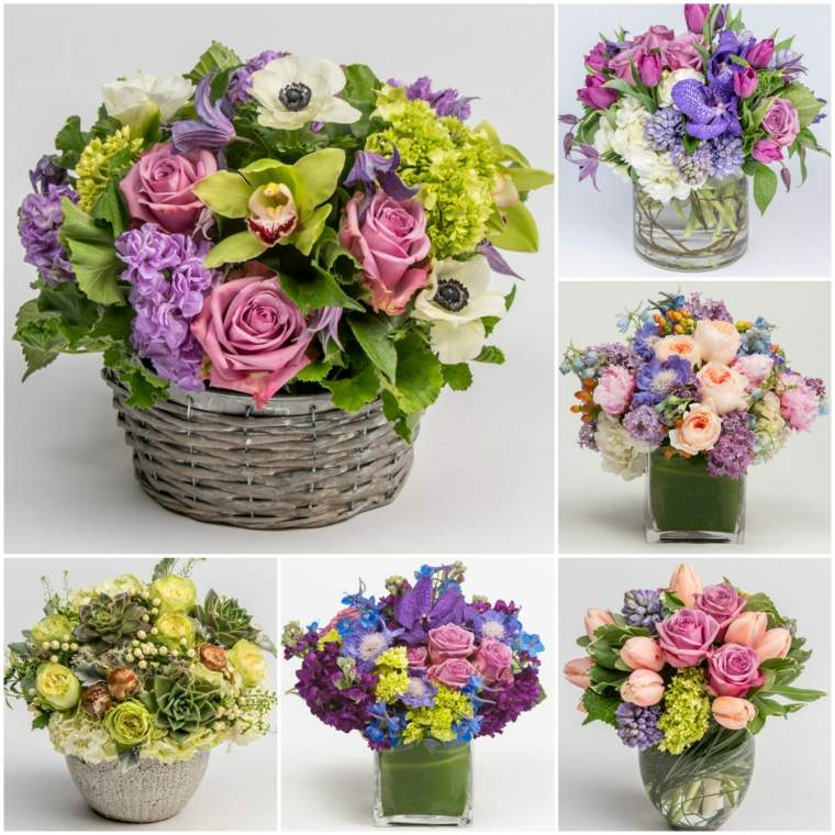 flores de pascua decoración casa