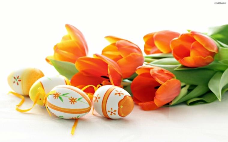 flores de pascua decorar casa