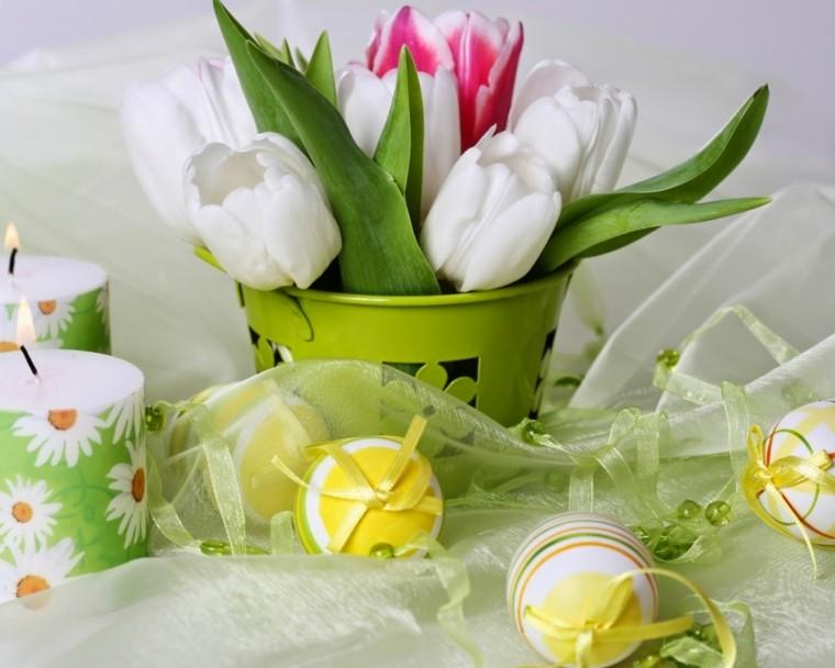 Flores de pascua para llenar de colorido los interiores -