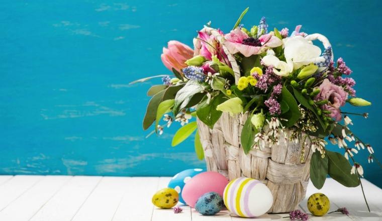 flores de pascua decorar