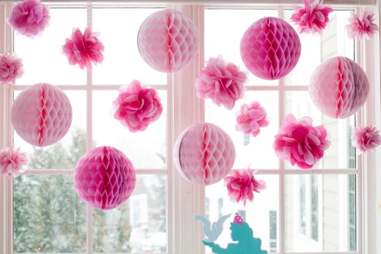 Flores de papel para decorar el interior de vuestra casa for Papel de decoracion