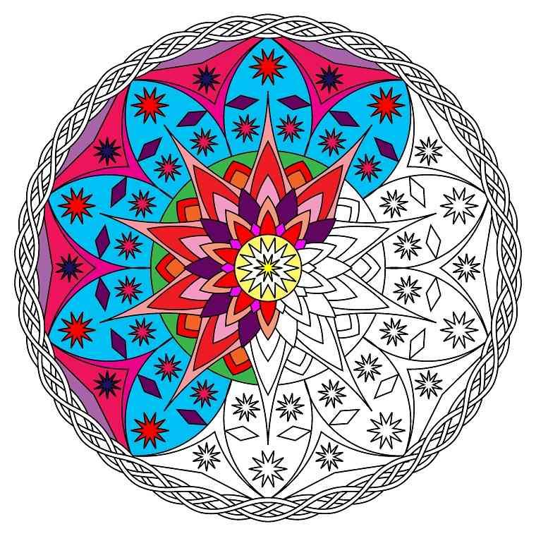 Mandalas colorear