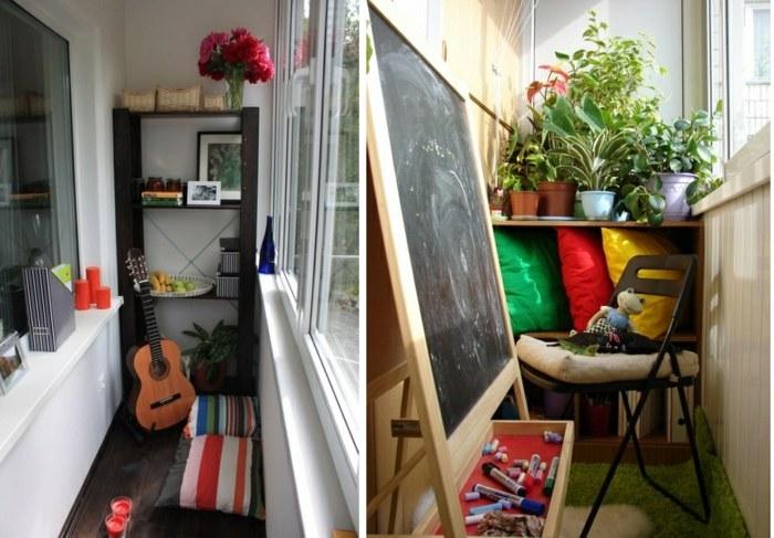 fresco espacio color cojines pizarra