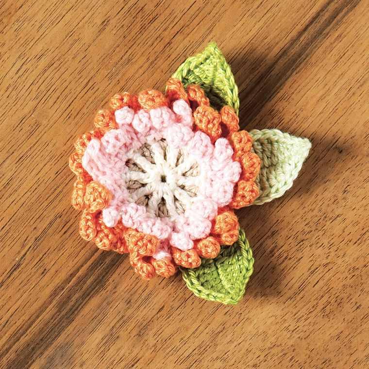ganchillo flores decorar