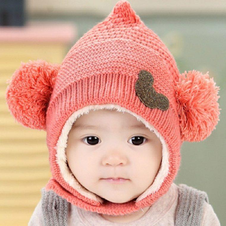gorros de lana cubierta completa especial infantiles
