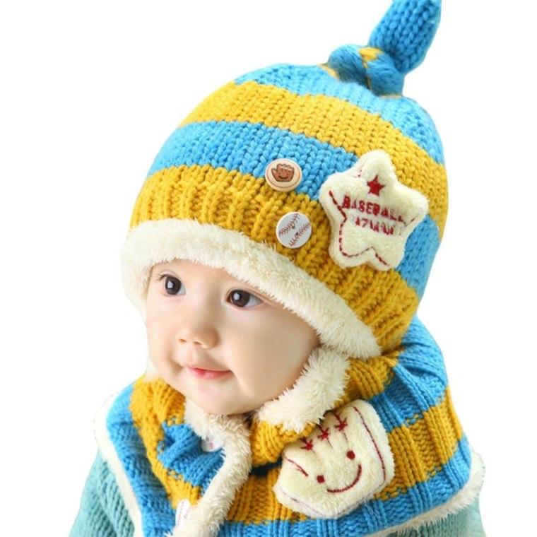 gorros de lana deporte inspiaciones infantil lineas