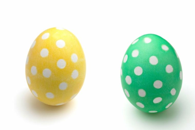 huevos Pascua lunares
