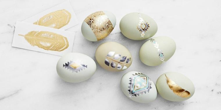 sellos huevos pascua