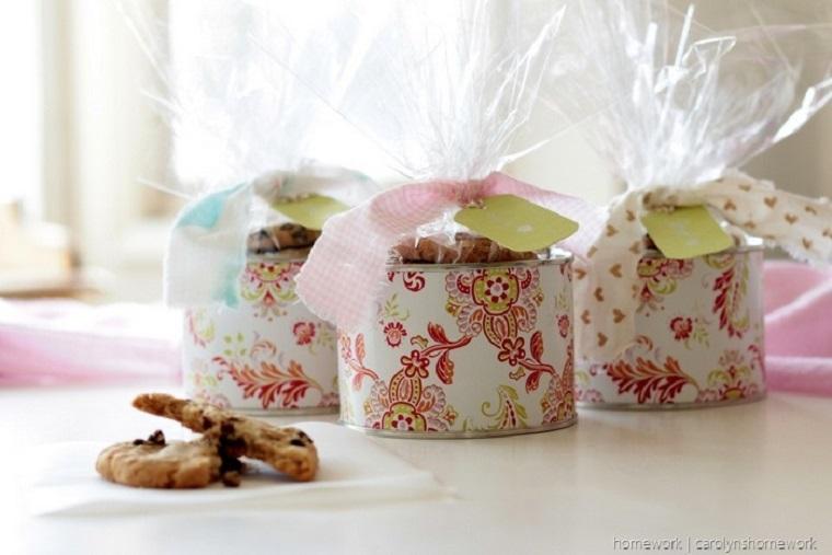 bonitas cajas galletas